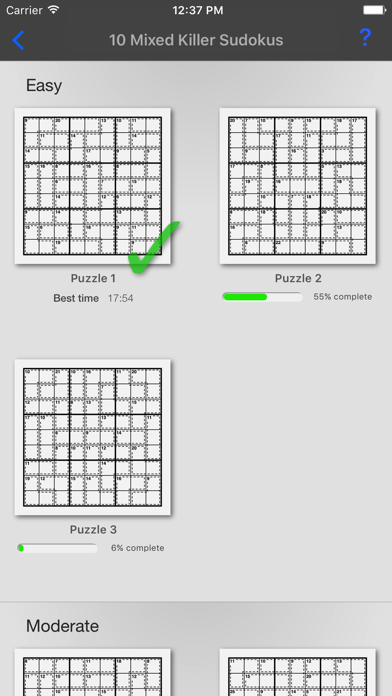 Killer Sudoku + screenshot four