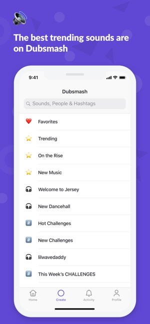 Dubsmash - Dance & Lip Sync Screenshot