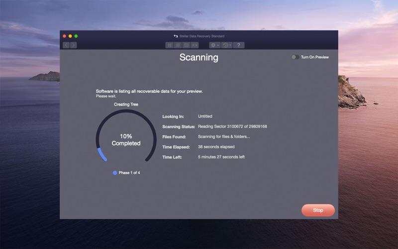 Stellar Data Recovery скриншот программы 3
