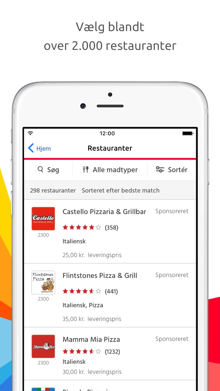 Just Eat Screenshot