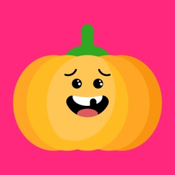 Red pumpkin emoji 2019