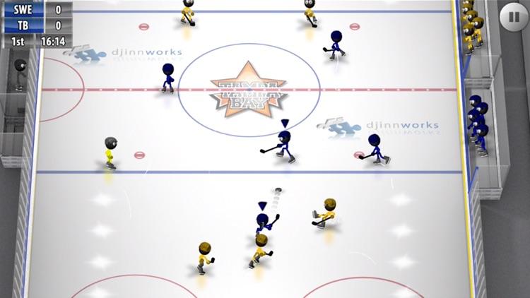 Stickman Ice Hockey screenshot-4