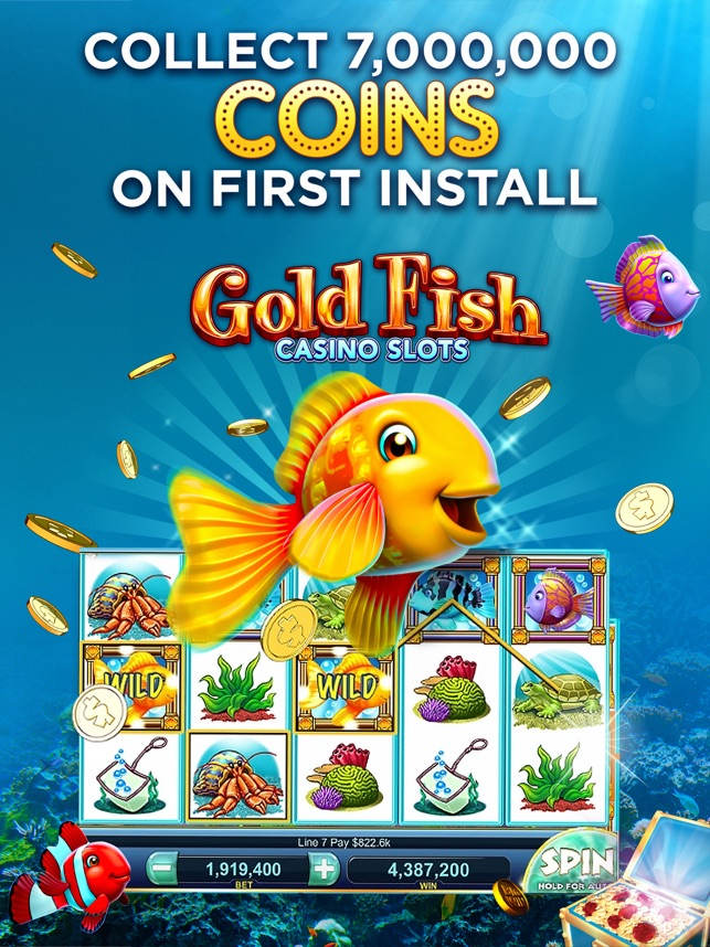 Gold Fish Slots Casino Games on the App Store