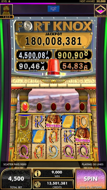 DoubleDown Fort Knox Slots screenshot-1