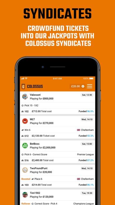 Colossus Bets screenshot four