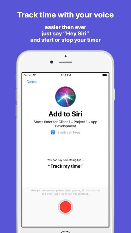 TimeTrack - Time tracking screenshot-5