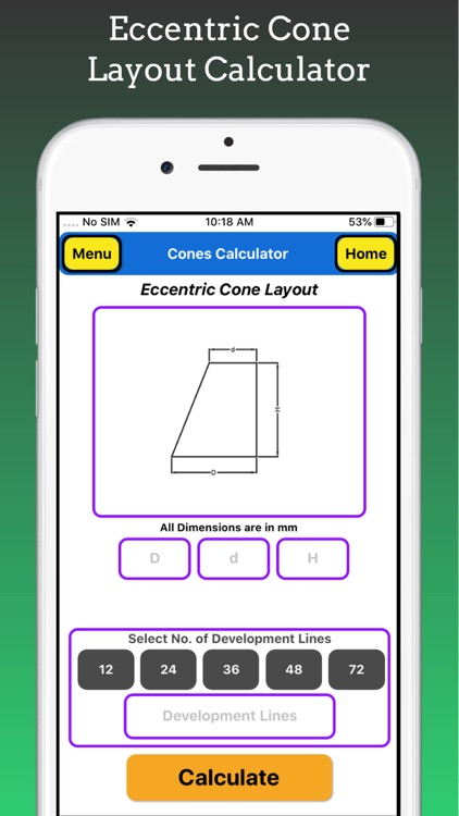 Cones Calculator Pro screenshot-6
