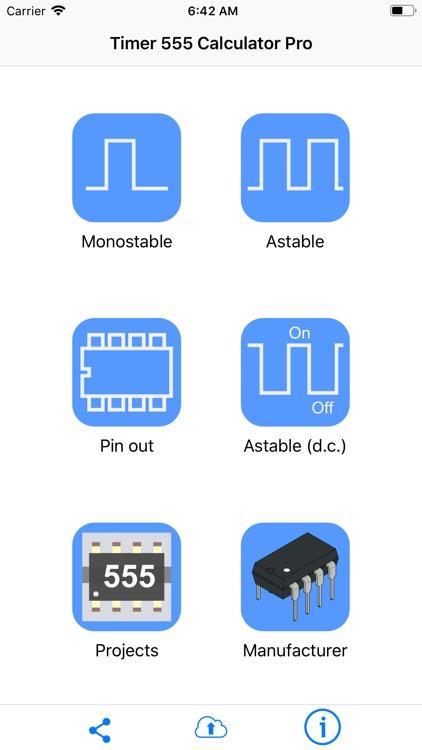 Timer 555 Calculator Pro screenshot-0