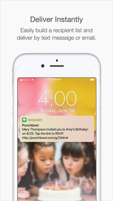 Punchbowl: Invitations & Cards Screenshot