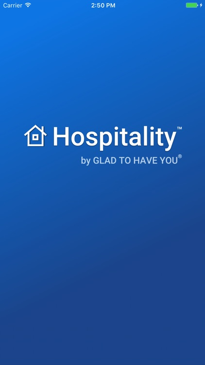 Hospitality by GladToHaveYou screenshot-0