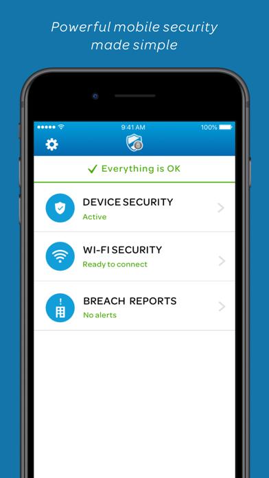AT&T Mobile Security Screenshot