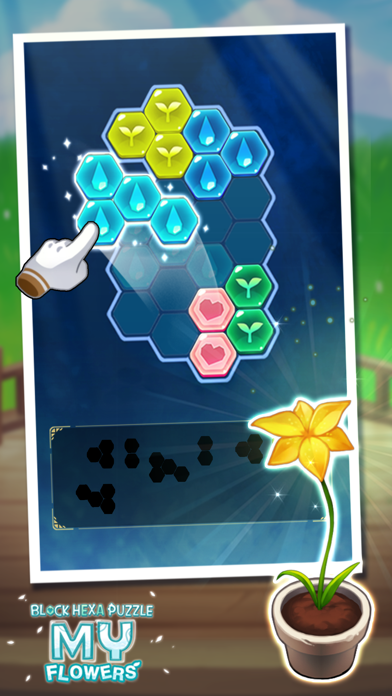 Block Hexa Puzzle : My Flower screenshot 8