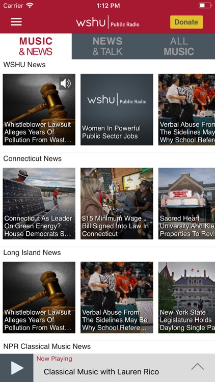 WSHU Public Radio App screenshot-1