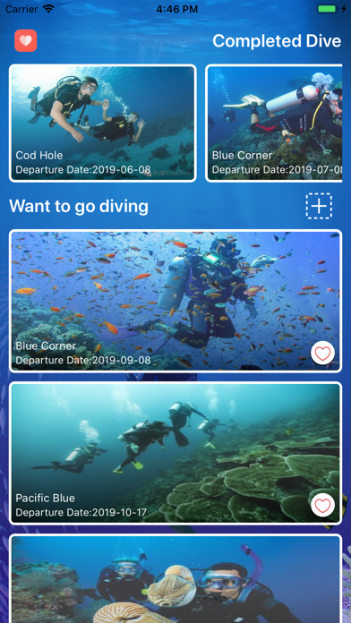 Diving Trip Manager screenshot #2