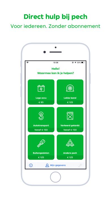 Pechhulp - RoadGuard iPhone app afbeelding 1
