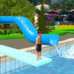 Water Park Slide : Uphill Rush