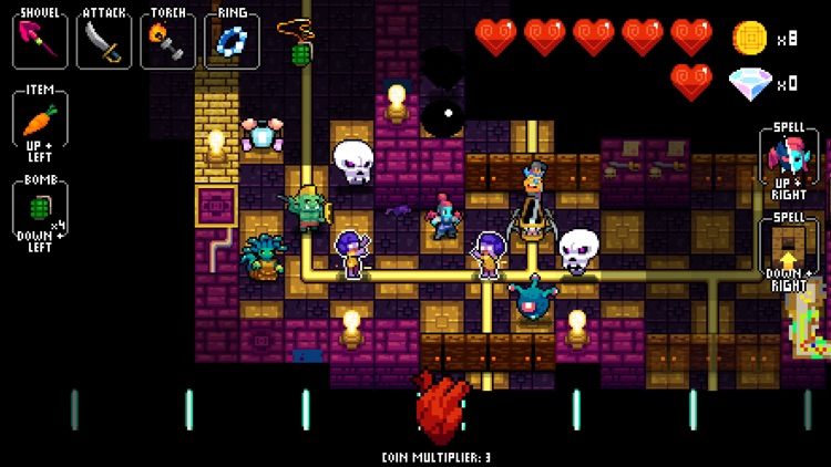 NecroDancer: AMPLIFIED screenshot-0