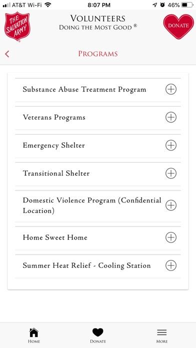The Salvation Army - DFW screenshot 8