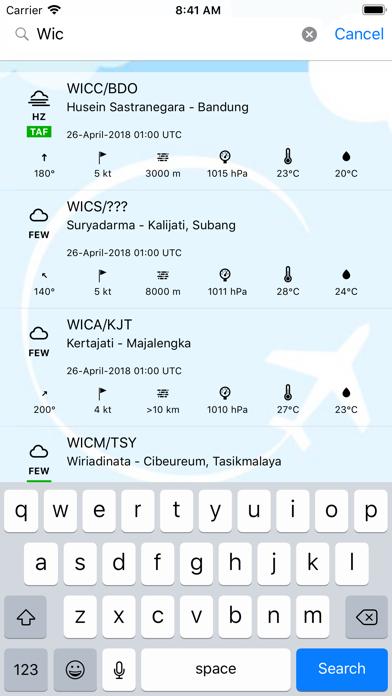 METAR Indonesia screenshot two