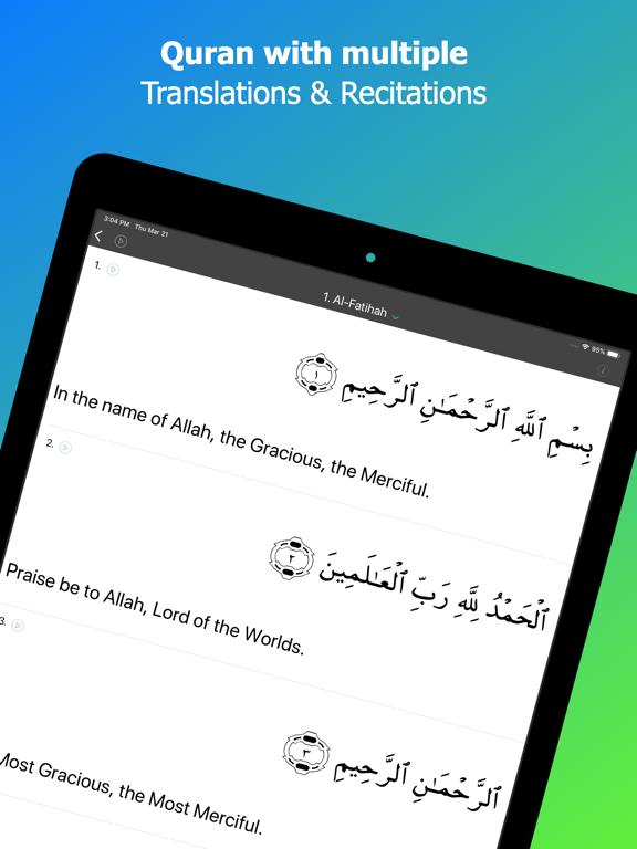 Screenshot #6 pour Calendrier islamique: Coran
