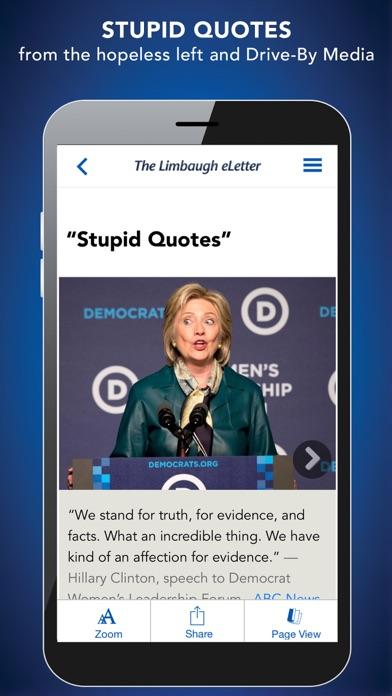 The Limbaugh Letter Screenshot
