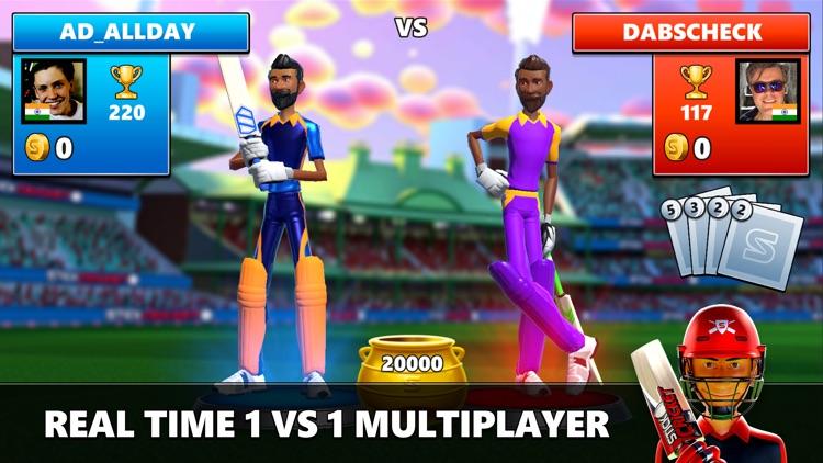 Stick Cricket Live screenshot-0