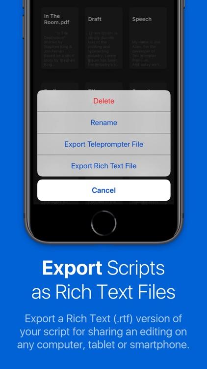 Teleprompter Premium screenshot-9