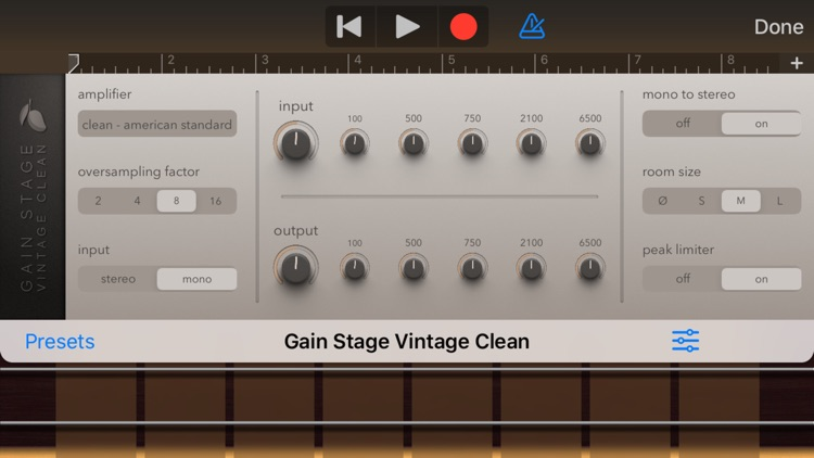 Gain Stage Vintage Clean screenshot-3