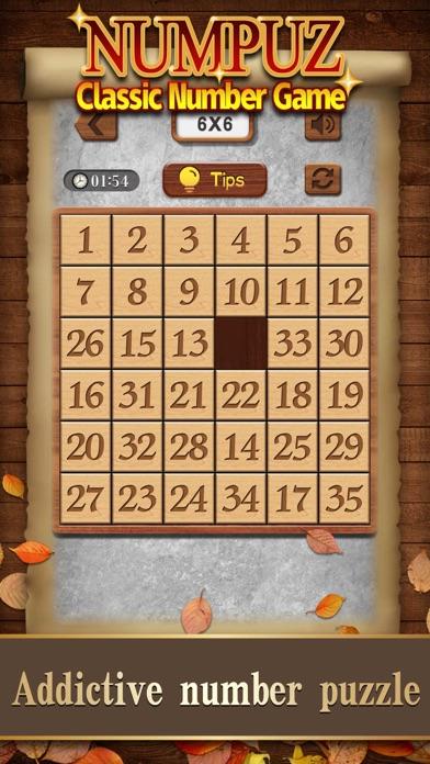 Numpuz:Classic Number Game screenshot 3