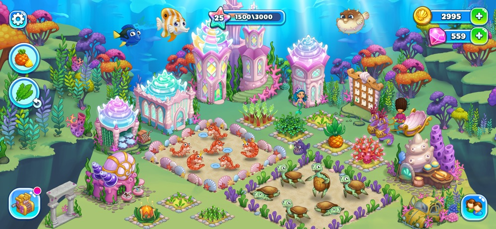 Aquarium Farm: mermaid story Cheat Codes