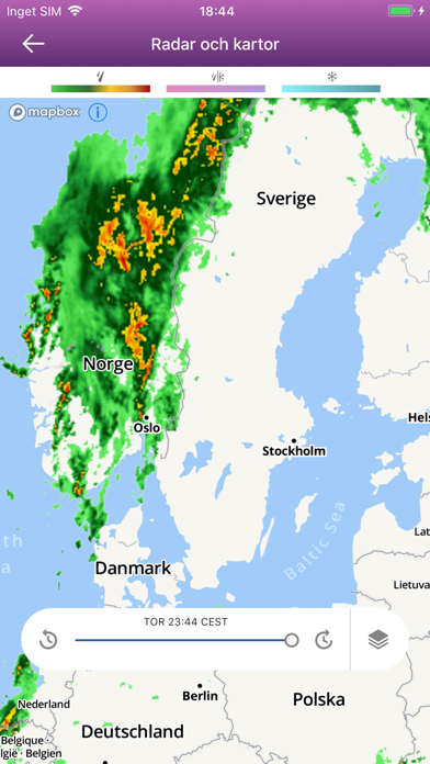 The Weather Channel: prognos på PC