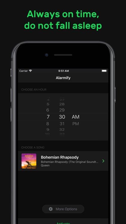 Alarmify for Spotify Music screenshot-4