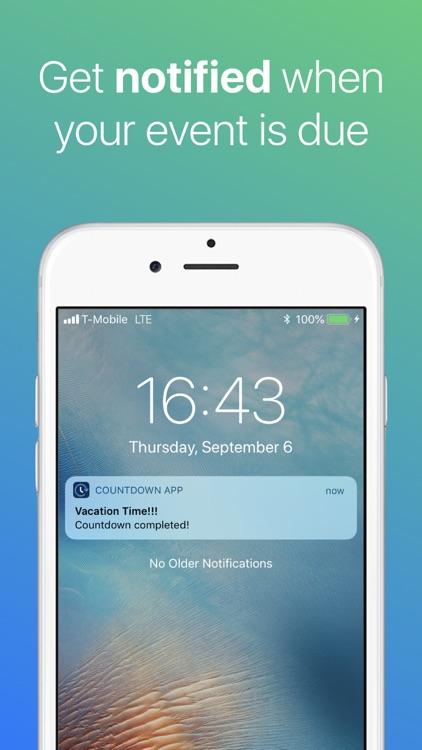 Countdown ◎ screenshot-3