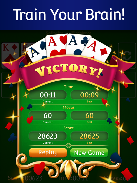 Solitaire  ‏‏‎‎‎‎ ‏‏‎‎‎‎ screenshot 12