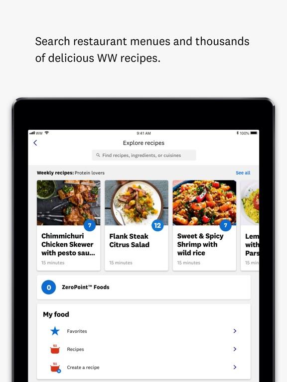 WW (Weight Watchers) iOS Application Version 7 18 0 - iOSAppsGames