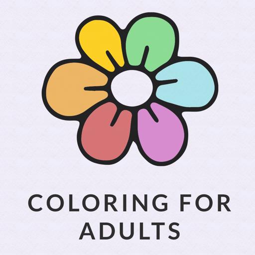 禪: 成人填色彩書。