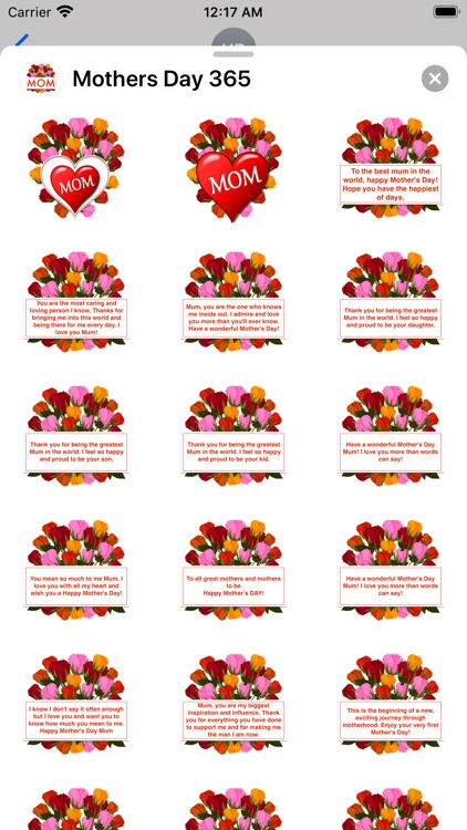 Mother's Day 365 Stickers screenshot-7