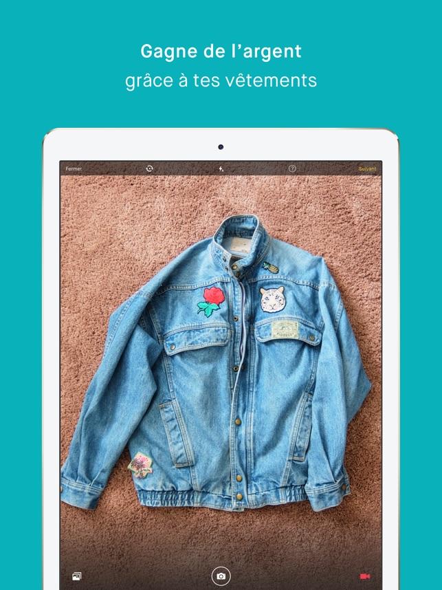 43068dedfcfe5  Vinted dans l App Store