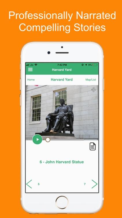 Harvard Yard Boston Tour Guide screenshot-3