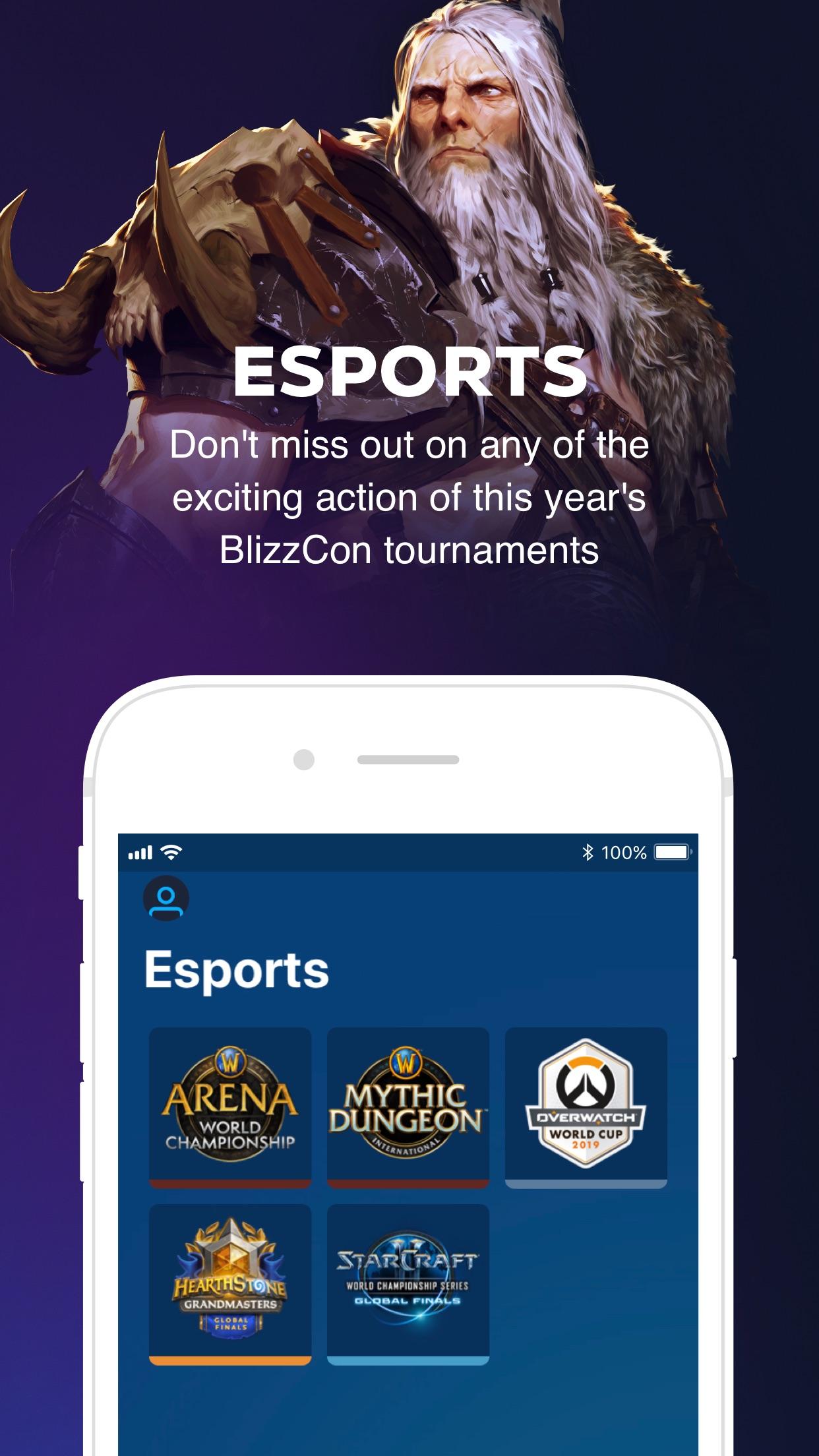 BlizzCon Mobile Screenshot