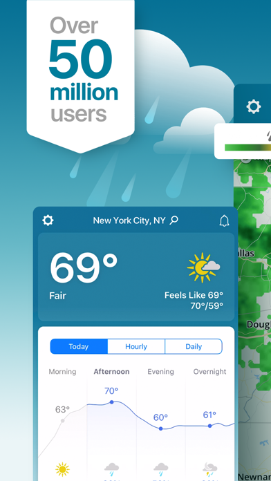 Weather - The Weather Channel Screenshot on iOS