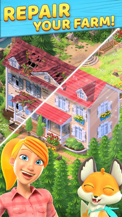 Wild Life: Puzzle Story screenshot 1