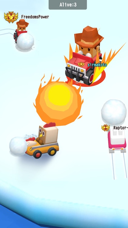 SnowBumper.io - go kart frenzy screenshot-2