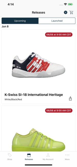 419dd083cd  Eastbay: Shop Sneakers & Gear on the App Store