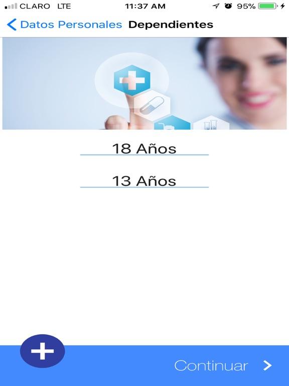 iPad Image of BMI Cotizador Salud Guarantee