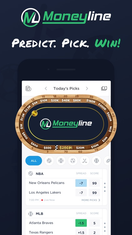 MoneyLine: Fantasy Pick'Em