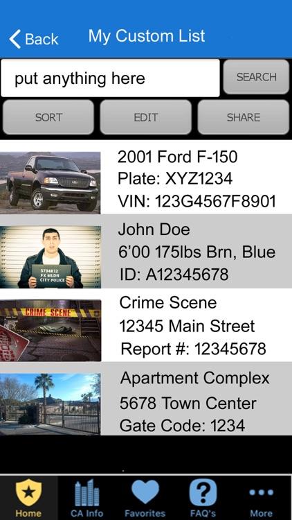 Pocket Brainbook for Police! screenshot-8