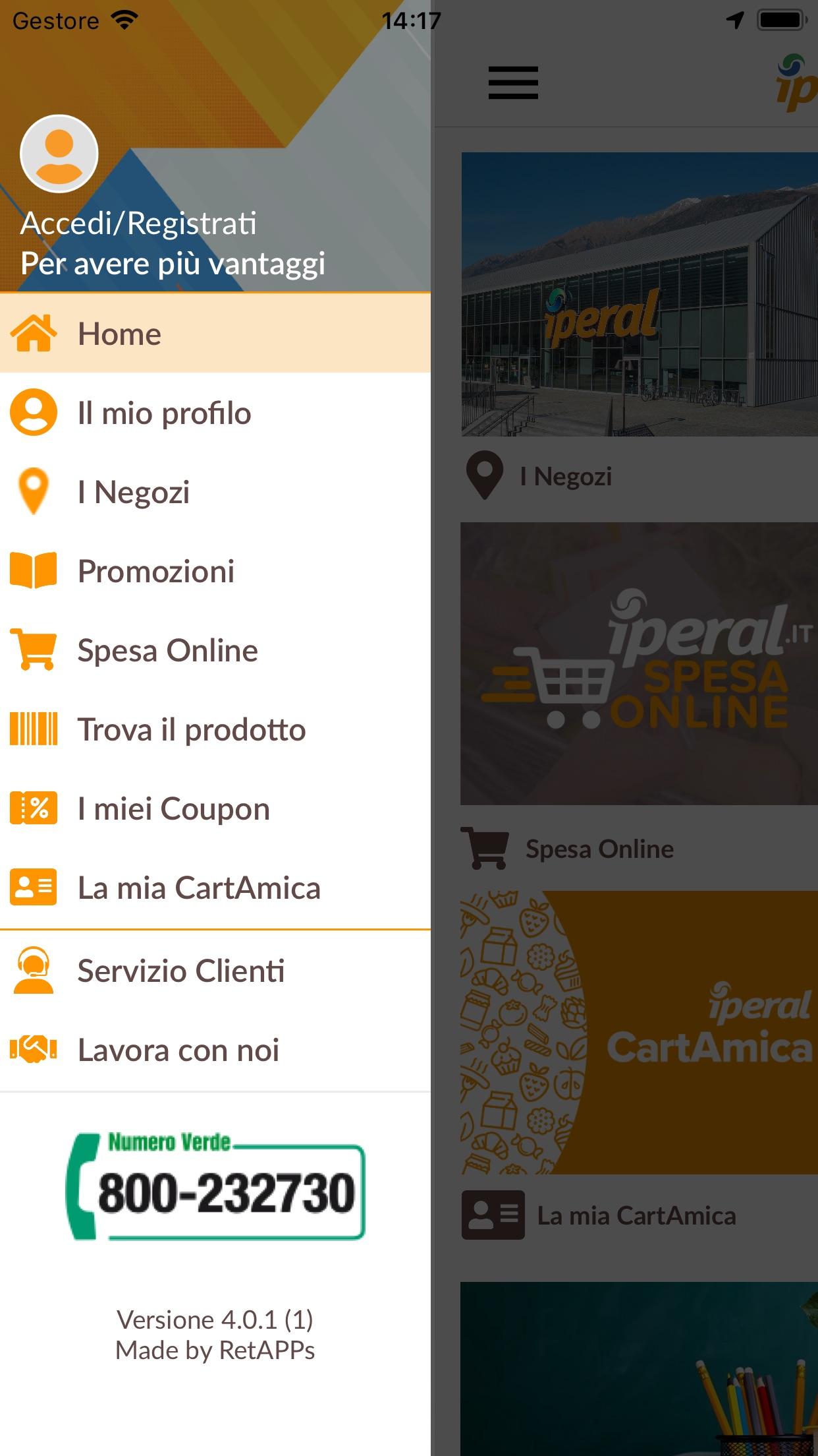 Iperal Screenshot