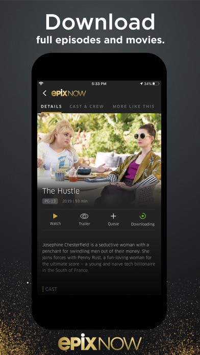EPIX NOW: Watch TV and Movies Screenshot