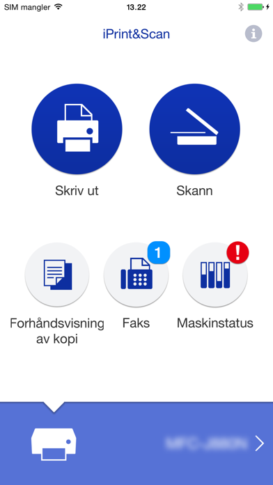 Screenshot for Brother iPrint&Scan in Norway App Store
